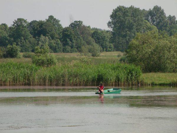 Риболовля на ставку в центрі села