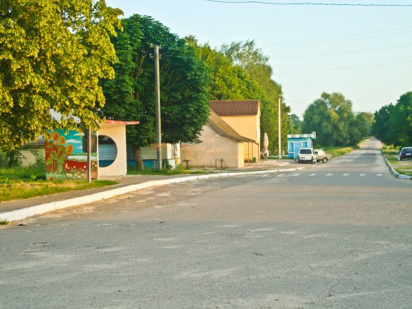Центральна вулиця села